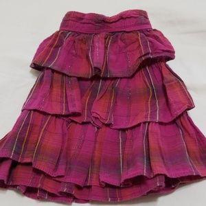 🔆Pink ruffled skirt